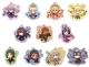 Fate/Grand Order きゃらみゅ スタンディングアクリルキーホルダー 11種セット