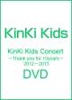KinKi Kids Concert -Thank you for 15years- 2012-2013