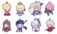 ラバーマスコット Fate/Grand Order Design produced by Sanrio BOX