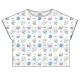 おそ松さん×Sanrio characters 総柄Tシャツ(カラ松)