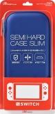 Switch用 セミハードケース スリム:ブルー