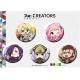 『Re:CREATORS』カナちび缶バッジセットB