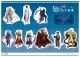 Fate/EXTELLA LINK トレーディングアクリルマグネット C BOX