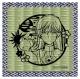 カードキャプターさくら 切り絵シリーズ 畳コースター 月(ユエ)&ケロちゃん