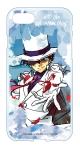 名探偵コナン ウェットカラーシリーズ iPhoneケース 怪盗キッド