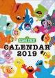 卓上 SESAME STREET 2019 カレンダー