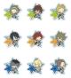 クリアブローチコレクション アニメ「アイドルマスター SideM」vol.1 BOX