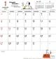 ホワイトボード スヌーピー 2019 カレンダー