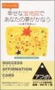 幸せな宝地図であなたの夢がかなうカード サクセス・アファメーション・カード