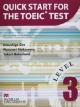 QUICK START FOR THE TOEIC TEST TOEICテスト演習ワークブック(3)