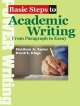 Basic Steps to Academic Writing From Paragraph to Essay