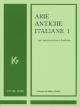 イタリア古典声楽曲集 中声用 Arie antiche Italiane(1)