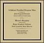 モーツァルト:レクイエム(1964年1月ケネディ大統領追悼ミサ実況録音)