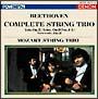 CREST 1000(427) ベートーヴェン:弦楽三重奏曲 作品3&9/セレナード 作品8