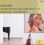 モーツァルト:ヴァイオリン・ソナタ 第41番 変ホ長調 K.481