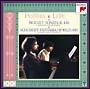 モーツァルト:2台のピアノのためのソナタ/シューベルト:幻想曲