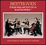 ベートーヴェン:弦楽四重奏 Op.59「ラズモフスキー」全曲