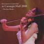 川井郁子 at カーネギーホール 2008~新世界~
