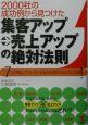 集客アップ→売上アップの絶対法則