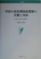 中国の政府間財政関係の実態と対応 1980~90年代の総括