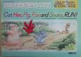 Cat,hen,pig,fox and snake,run! Click on Phonics READING