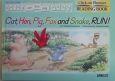 Cat,hen,pig,fox and snake,run! Click on Phonics READING