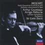 モーツァルト:ヴァイオリン協奏曲第3&5番/協奏交響曲