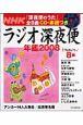 ラジオ深夜便年鑑 2008 「深夜便のうた」全8曲CD・楽譜つき