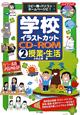 学校イラストカットCD-ROM 授業・生活 コピー機・パソコン・ホームページに!(2)