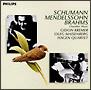 シューマン:ヴァイオリン・ソナタ、ブラームス:ピアノ五重奏曲