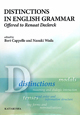 DISTINCTIONS IN ENGLISH GRAMMAR offered to Renaat Declerc