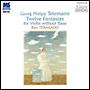 テレマン:無伴奏ヴァイオリンのための12の幻想曲(HYB)