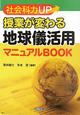 社会科力UP 授業が変わる 地球儀活用 マニュアルBOOK