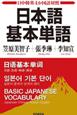 日本語 基本単語 日中韓英4か国語対照