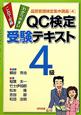 QC検定 受験テキスト 4級 品質管理検定集中講座4 わかりやすい これで合格