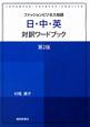 ファッションビジネス用語 日・中・英対訳ワードブック