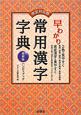 早わかり 常用漢字字典<改定対応版・最新版> ハンディブック