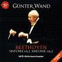 ベートーヴェン:交響曲第1番&第2番[1997年&1999年ライヴ](HYB)