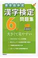 漢字検定 6級 問題集 書き込み式 大きくて見やすい