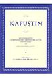 カプースチン ピアノと管弦楽のための協奏曲 第4番 作品56【2台ピアノ】