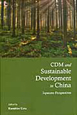CDM and Sustainable Development in China Japanese Perspectives