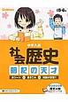 中学入試 社会 歴史 暗記の天才 赤シート×書きこみ=知識が定着!!