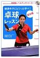 卓球レッスン 基本編 樋浦令子にビシッと学べ! DVDレベルアップシリーズ