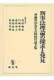 刑事法理論の探求と発見 斉藤豊治先生古稀祝賀論文集