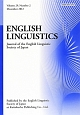 ENGLISH LINGUISTICS 29-2 Journal of the English Li