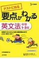 要点がわかる 英文法 中学1~3年 テストに出る 定期テストから入試の基礎固めまでこの1冊でOK!