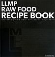 LLMP RAW FOOD RECIPE BOOK uncooked pure&fresh nuts,