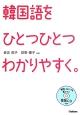 韓国語をひとつひとつわかりやすく。 発音、リスニングも身につく音読CDつき