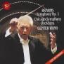 ブラームス:交響曲第1番(CSO)&シューベルト:交響曲第8番「未完成」(NDR)