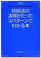 韓国語の活用がたった3パターンでわかる本